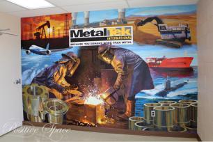 MetalTek Mural